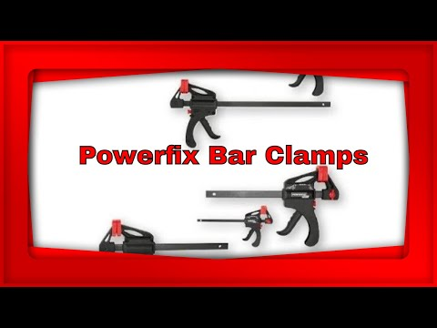 Review PowerFix Bar Clamps