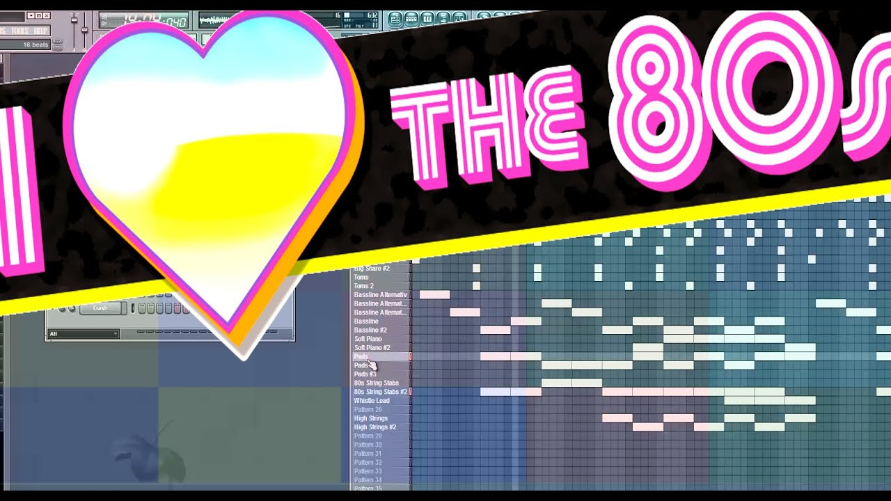 80s Party 🎵 Fl Studio Making Of 80er Synthwave Instrumental Musik |  Retrowave Pop Hits (Free Music)