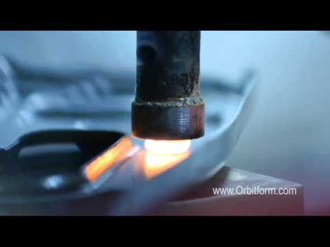 Hot Upset Forming and Riveting - by Orbitform