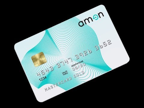 Amon Tech Crypto Debit Card for Everyday Life- Ico Introduction