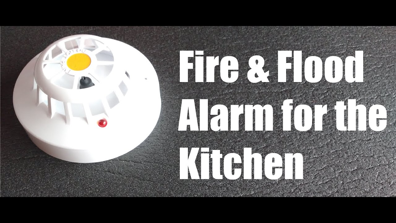 Fire And Flood Alarm For The Kitchen Youtube Bc548 Heat Sensor Circuit