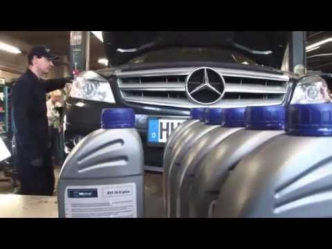 Mercedes W204 C-class Automatic Transmission 722.6 Fluid and Filter Change
