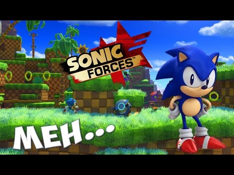 My Thoughts on Sonic Forces - Green Hill Zone Gameplay