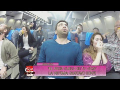La cocina del show - ¡Qué miedo! El peor vuelo de tu vida con Gustavo Conti