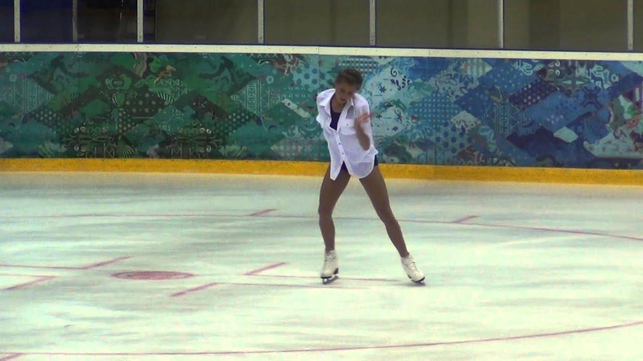 Maria Artemieva 00918 Russian test skate 07 09 2014 Maria Artemieva YouTube