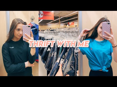 thrift with me + haul! (i can't believe i found this stuff)