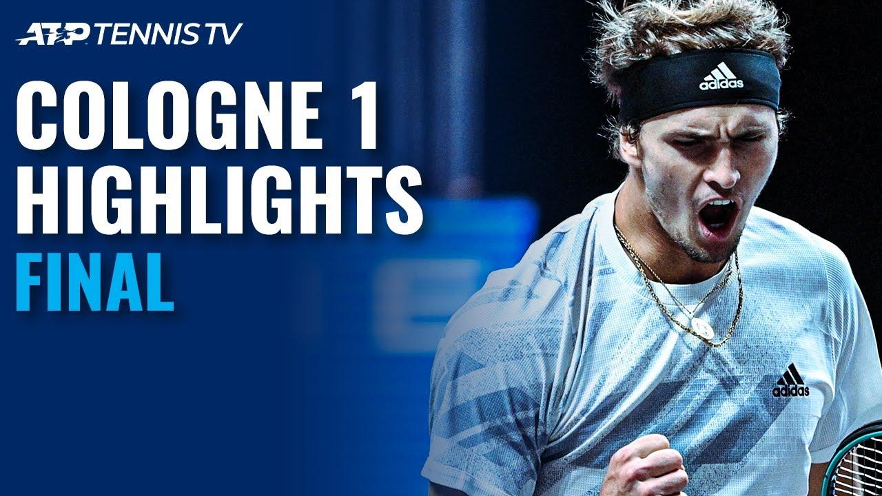 Alexander Zverev vs Felix Auger-Aliassime | Cologne 1 2020 Final Highlights