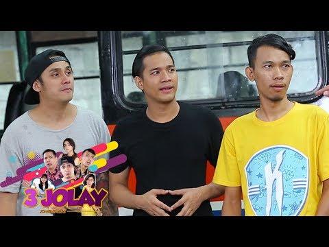 Warna Warni 3 Jolay Jadi Supir dan Kernet Metro Mini - 3 Jolay Episode 7