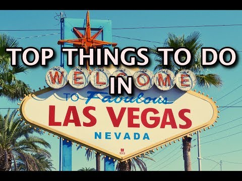 Top Things To Do In Las Vegas, Nevada | 4K