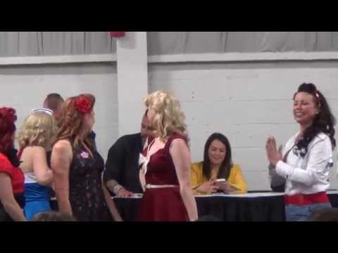 Pin Up contest Northeast  auto show 2014 n the wack/swagg