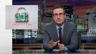 Last Week Tonight with John Oliver: Encryption (HBO)(Strong encryption poses problems for law enforcement, is weakening it worth the risks it presents? It's…complicated. Connect with Last Week Tonight online., 2016-03-14T06:30:00.000Z)