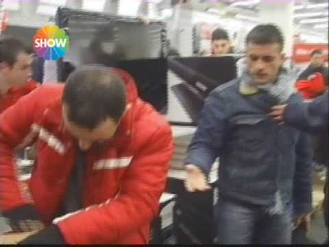 izmir Media Markt Uyanık Polisler lcd leri kaptı