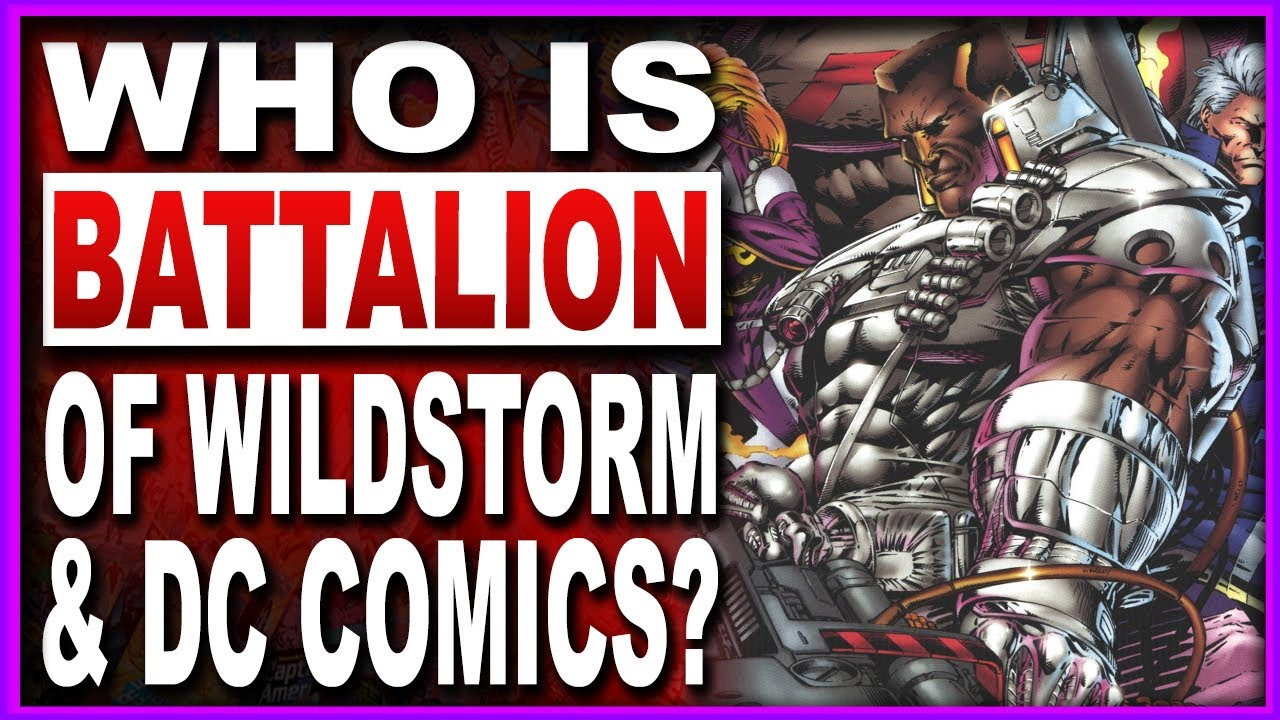 Who Is Wildstorm's Battalion? A Perfect Mix Of Nick Fury & Cable!