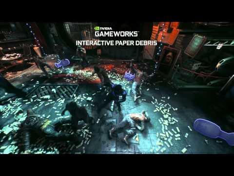 Batman: Arkham Knight NVIDIA GameWorks Video