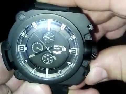 8f6c7d9a07f Diesel Watch Batman BATMAN The Dark Knight Rises LIMITED EDITION replica