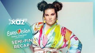 Eurovision 2018: Semi-final 1 (Recap of all songs)