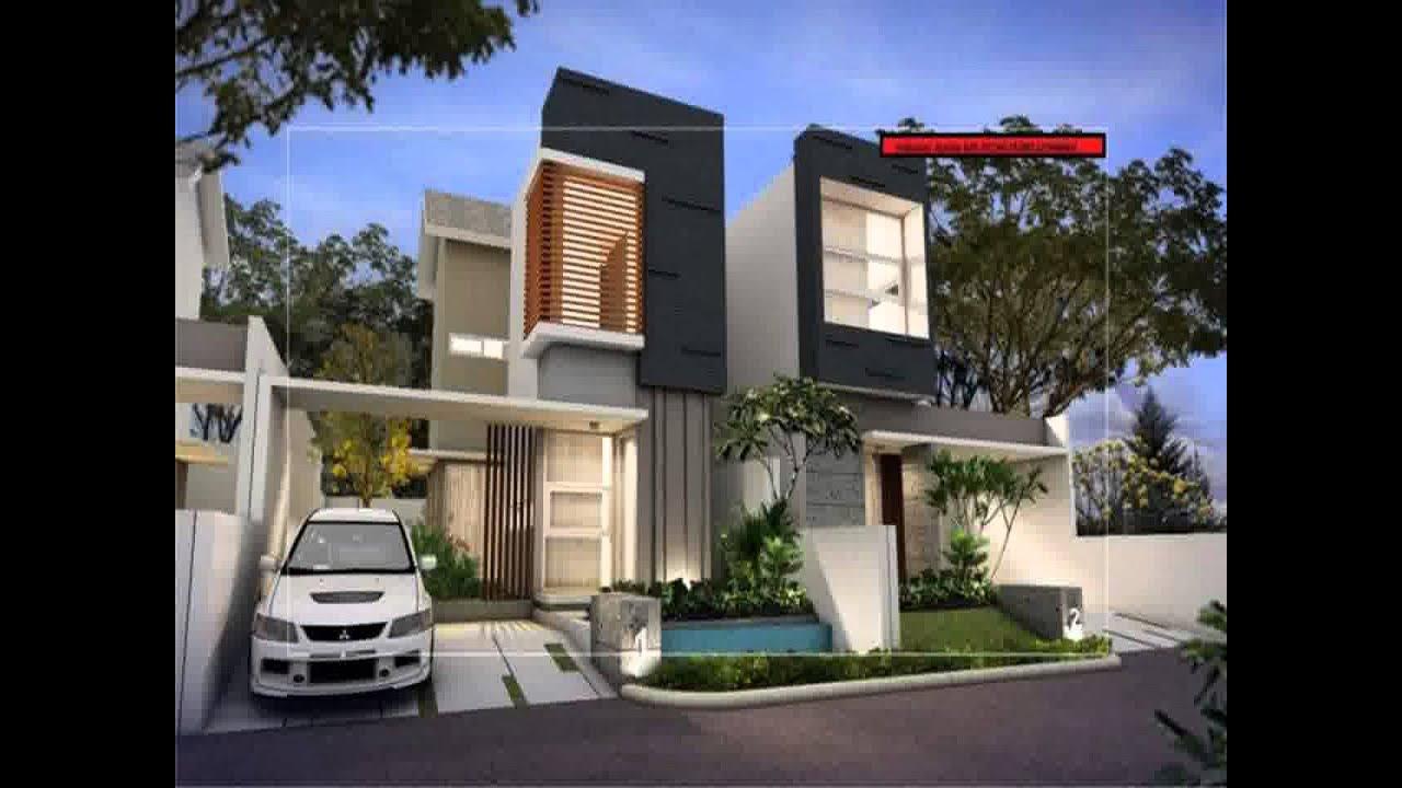 Desain Rumah Minimalis Ukuran 6x14 Yg Sedang Trend Saat Ini YouTube