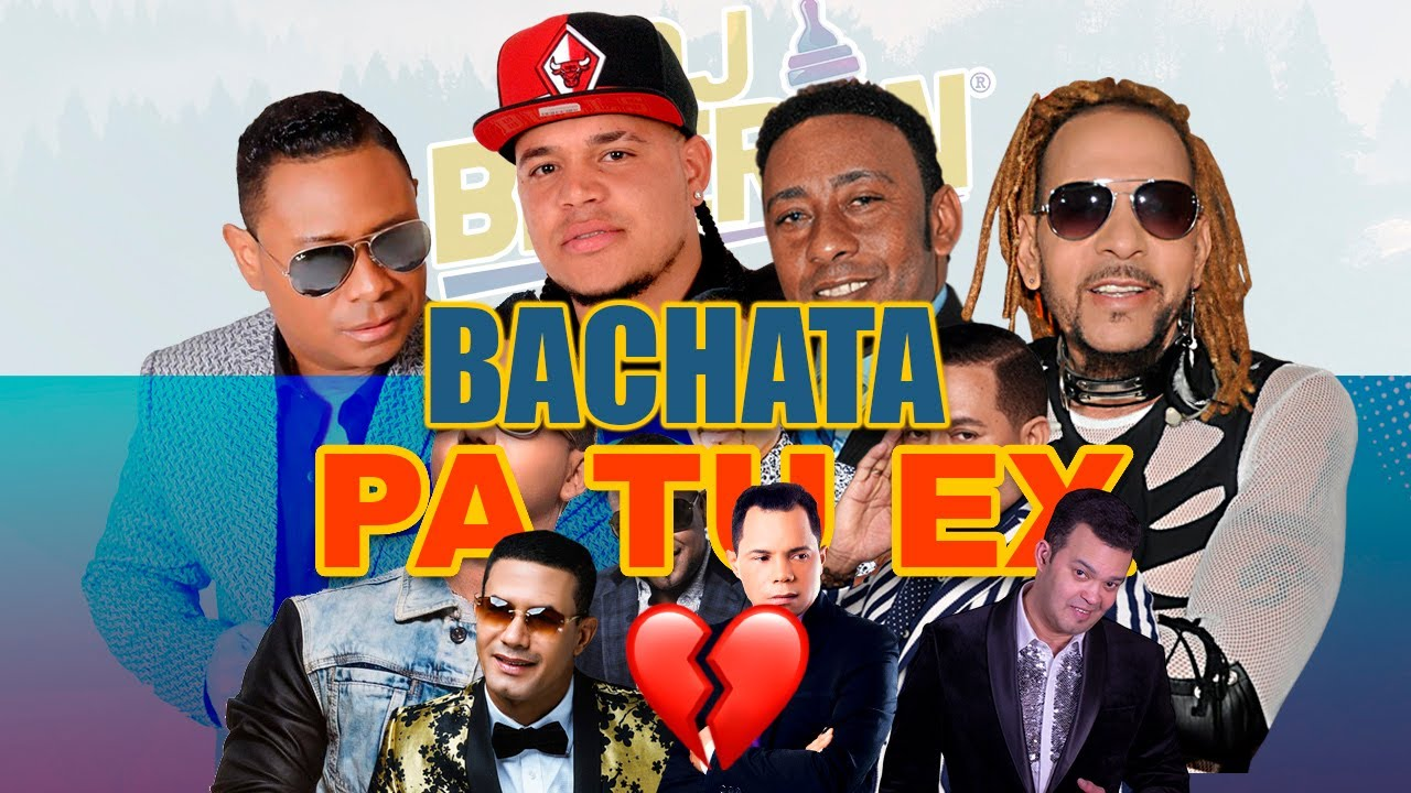 BACHATA PA RECORDAR A TU EX 💔 VOL.1 - (Solo Exitos) Elvis Martínez, Anthony Santos, Raulin Rodriguez