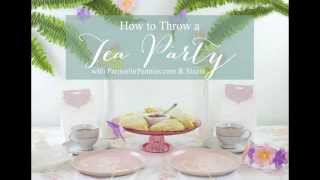 Sizzix - Heidi Rew Tea Party Tea Bag Tag