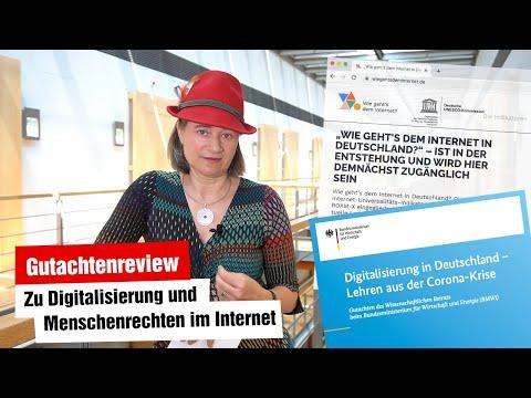 Gutachten zur Digitalisierung + zum Stand des Internets in Deutschland (Digitalausschuss 09.06.2021)