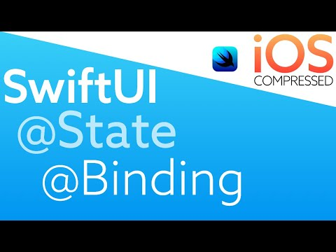 SwiftUI: @State and @Binding   iOS, Swift, 60 seconds thumbnail