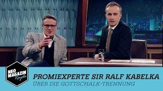 Promiexperte Sir Ralf Kabelka über die Gottschalk-Trennung   NEO MAGAZIN ROYALE mit Jan Böhmermann