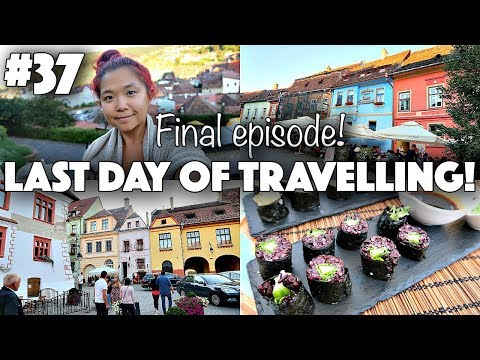 LAST DAY IN EASTERN EUROPE (SOLO FEMALE TRAVEL) ♡ Rose Does Europe Vlog #37