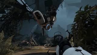 I love the Disney references in Portal 2