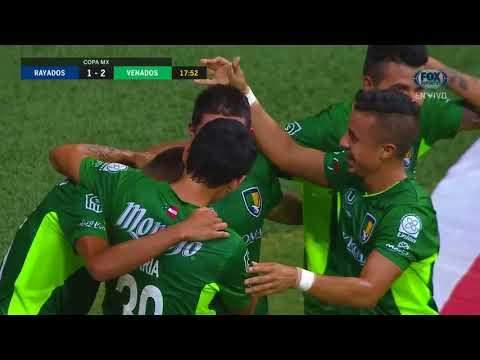 GOL: Monterrey 1-2 Venados FC