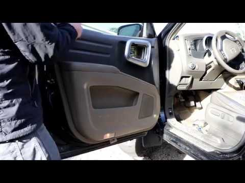 Ridgeline Door Panel Removal Reassembly Youtube