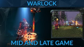 How to win mid and late game with Warlock - 7k MMR guide by ZXYC