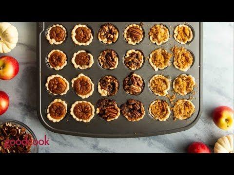 One Pan Mini Holiday Pies