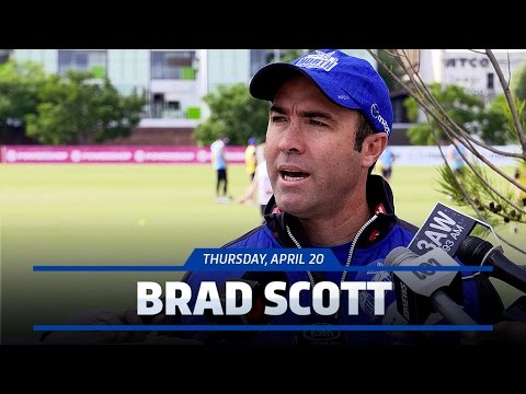 April 20, 2017 - Brad Scott media conference