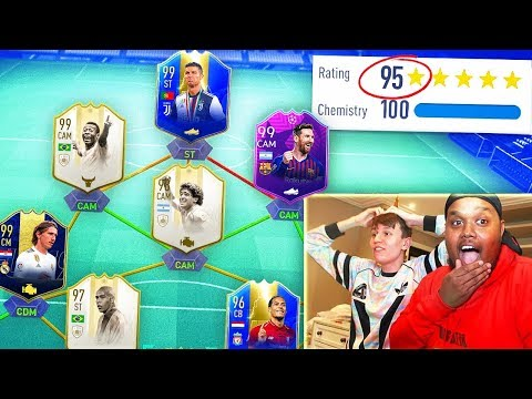 195 RATED!! - MY HIGHEST RATED FUT DRAFT IN FIFA HISTORY! (FIFA 19)