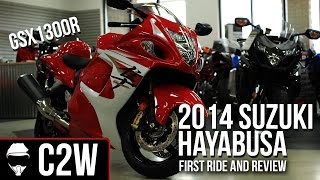 2014 Suzuki Hayabusa GSX1300R First Ride and Review