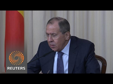 Thumbnail: Russia's Lavrov says US force against North Korea 'extremely risky'