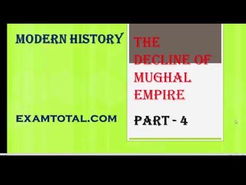 decline of mughal empire