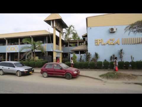 Iles Salomon Honiara Centre ville / Solomon islands Honiara City center