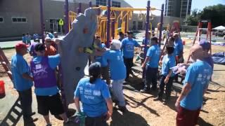 Peco And Kaboom! Playground Build 2014