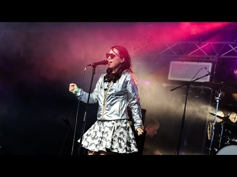 Little Dragon's performance on the BBC Introducing stage at Glastonbury Festival 2014
