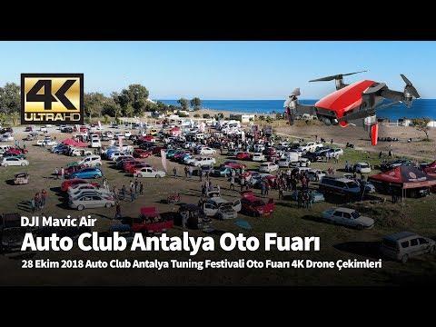 Auto Club Antalya Oto Fuarı 4K Drone Çekimleri (Müzik Onuncu Yıl Marşı)