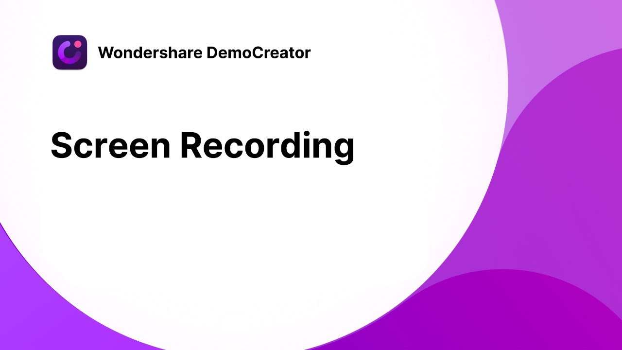 How to Record PC Screen | Wondershare DemoCreator Tutorial