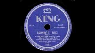 """Arnold """"Gatemouth"""" Moore, King Records 1947 B/W I'm A Fool To Care."""
