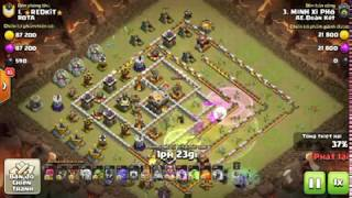 Clash of Clans War: TOP Combo Bowlers vs Baloon đỉnh cao