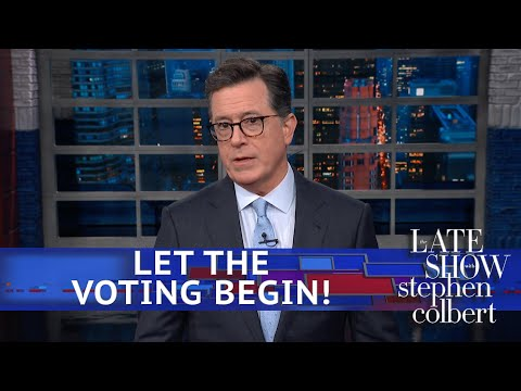 Colbert Crunches The