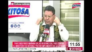 ENTREVISTA HITLER SUAREZ PEÑA  PDTE DE EX COMBATIENTES 78,81,95 (EXITOSA TV)
