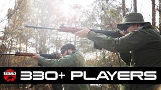 330+ Players Ballahack Airsoft Gameplay