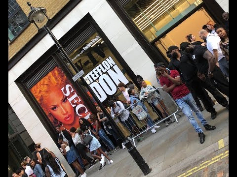 Stefflon Don 'Secure' X YouTube Music Pop Up Shop