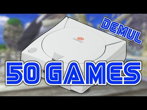 50 Dreamcast Games Played on DEMUL ( Sega Dreamcast Emulator