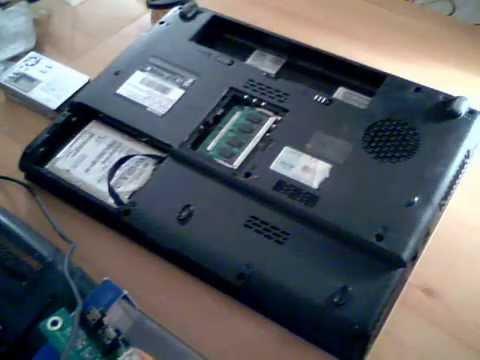 DÉPANNER SON PC. Toshiba Satellite L300. Démontage pour nettoyage ...